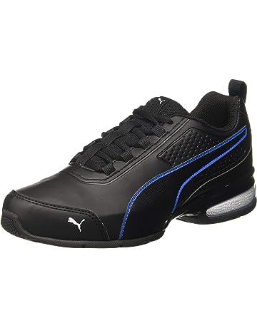 4 Color 35-45EU TAZAN Basket pour Homme Pas Cher en Plein Air Chaussures De Course Homme Haute Aide Basket-Ball Baskets Jogging Gym en Cuir Lacet Sneakers Noir Rouge