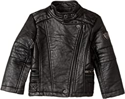 Buffalo Faux Leather Moto (Toddler)
