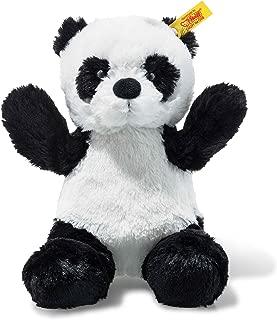 Steiff Soft and Cuddly Black/White Panda - 8