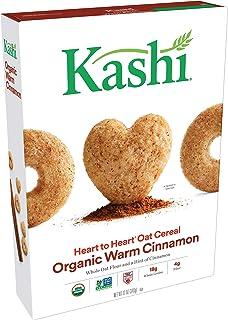 Kashi Heart to Heart Organic Warm Cinnamon Oat Cereal - Kosher,12 Oz Box