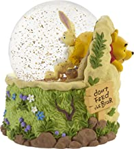 Precious Moments 203704 Disney Don't Feed The Bear Winnie The Pooh Resin/Glass Musical Snow Globe