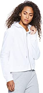 Calvin Klein Women's J20J209559-White Hoodies