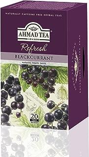 Ahmad Tea, Blackcurrant, 20-Count (Pack of 6)