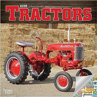 Tractors Calendar 2020 Set - Deluxe 2020 Tractors Mini Calendar with Over 100 Calendar Stickers (Tractors Gifts, Office Supplies)