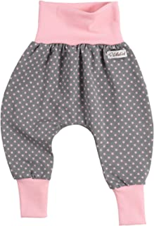 Kleine K/önige Pumphose Baby M/ädchen Hose /· Modell Elefantenparty lila rosa /· /Ökotex 100 Zertifiziert /· Gr/ö/ßen 62//68