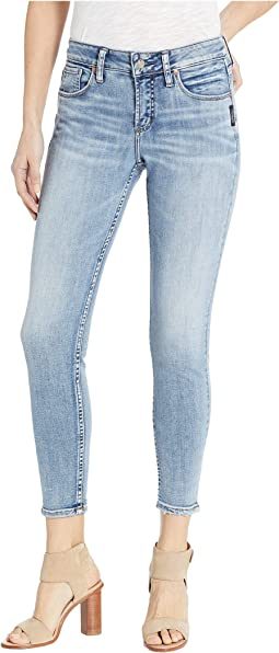 Avery High-Rise Skinny Jeans in Indigo