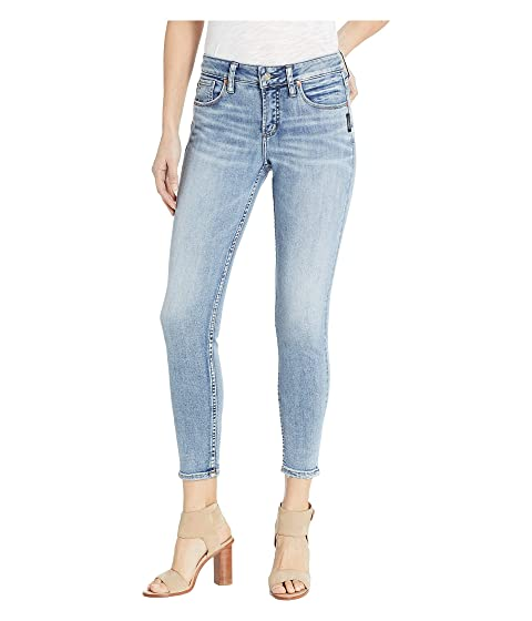 726797d2 Silver Jeans Co. Avery High-Rise Skinny Jeans in Indigo L94116SSX251 ...