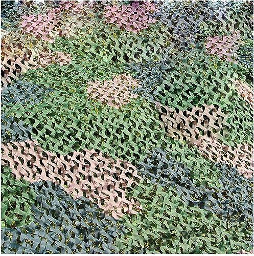 Filet Camo Visière Extérieure GR Forêt Camouflage Net Oxford Tissu Ombre Extérieur Tente Verte Chasse Camping Camouflage Net Multi-Taille en Option (Taille  4  5m) Armée Camo Filet (Taille   3  4m)