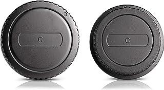Ares Foto® Tapa de la carcasa + Tapa posterior del objetivo. Cubiertas protectoras para el cuerpo de la cámara y el objetivo. Para Canon EOS 750D 760D 700D 1200D 7D 60D 650D 600D 1100D 550D IV 500D 1000D 450D