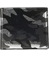 MCM - Munich Lion Camo Flap Wallet/Two-Fold Small