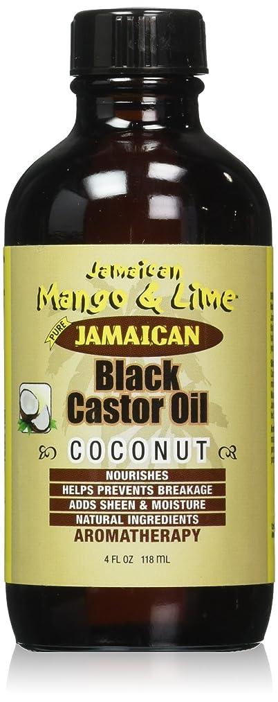 路面電車どうやって孤独Jamaican Mango ブラックヒマシ油、ココナッツ、4オンス ココナッツ