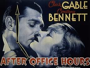 Odsan Gallery After Office Hours, Clark Gable, Constance Bennett, 1935 - Premium Movie Poster Reprint 40