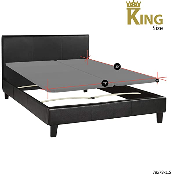 Continental Sleep Fully Assembled 2 Inch Foundation Bunkie Board Made In USA King