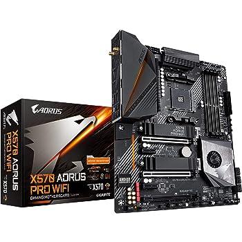 GIGABYTE X570 AORUS PRO Wi-Fi (AMD Ryzen 3000/X570/ATX/PCIe4.0/DDR4/USB3.1/Realtek ALC1220-VB/Fins-Array Heatsink/RGB Fusion 2.0/2xM.2 Thermal Guard/Gaming Motherboard)