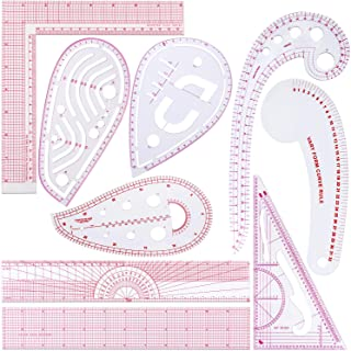 Watermel Tailors Ruler for Sewing 1:3 Clothing Ruler Sewing Patterns /& Templates Ruler Plastic Pattern Making Measuring Ruler Fabric Tailor Sewing Tools