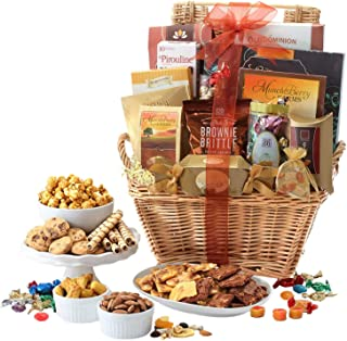 Broadway Basketeers Deluxe Gift Basket with Chocolates, Lindt incl.