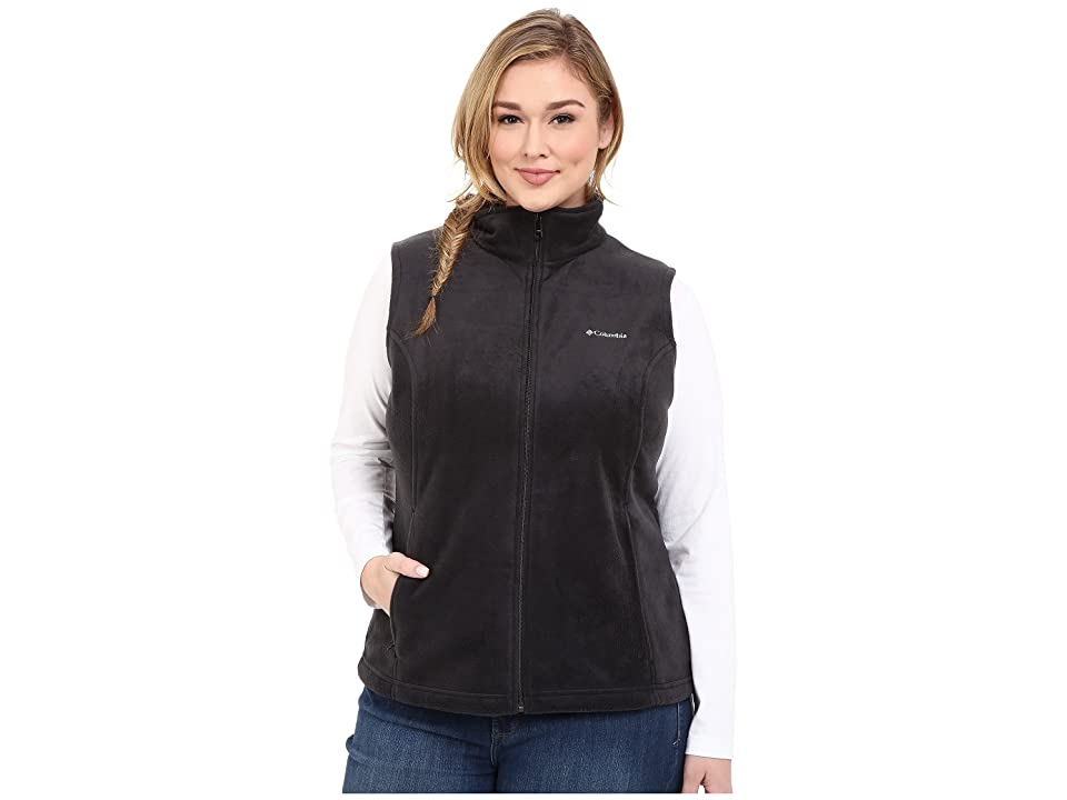 Columbia Plus Size Benton Springstm Vest (Black) Women