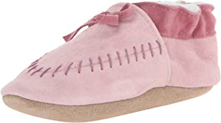 robeez pink moccasin