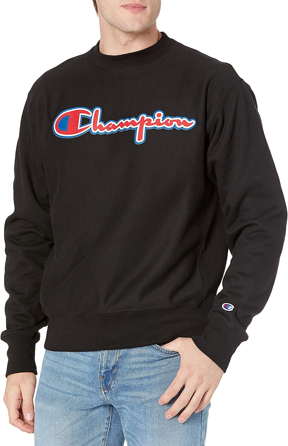 Champion Year-end gift Men's Reverse Crew Weave Sales