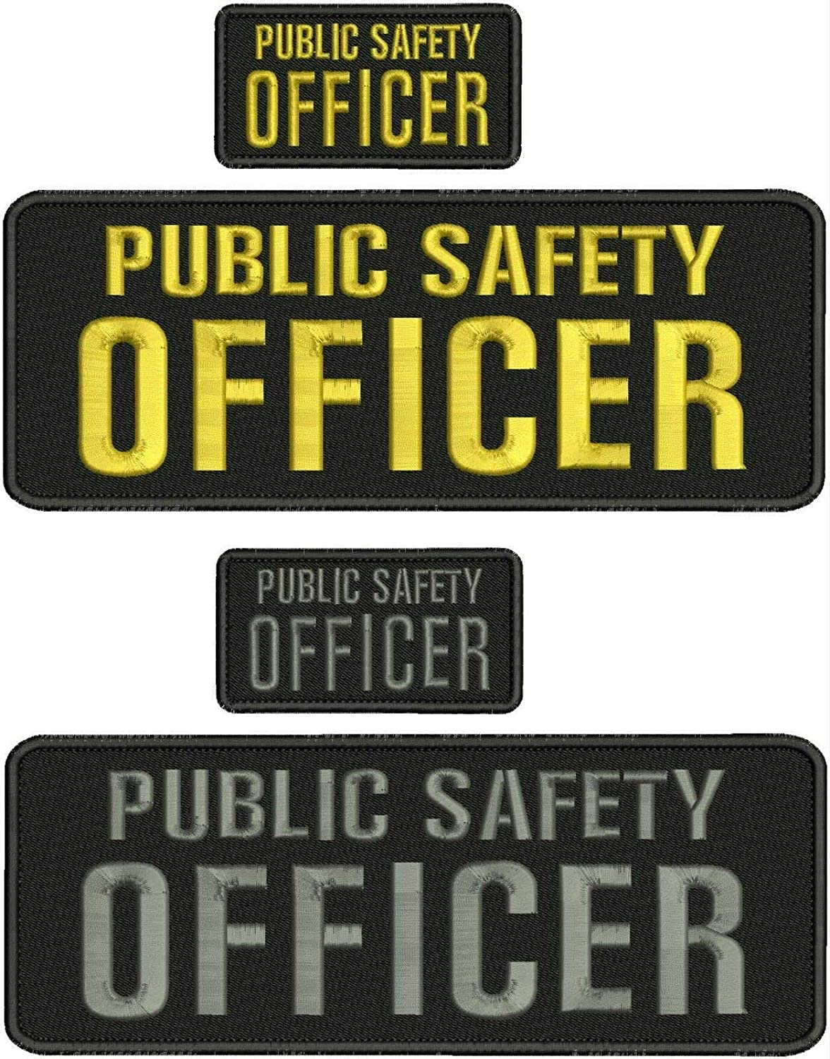 Embroidered Patch - Patches for Max 57% OFF Public Office Safety Ranking TOP17 Women Man