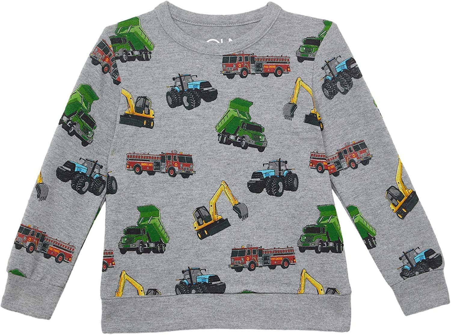 CHASER Boy's RPET Recycled Bliss Knit Long Sleeve Crew Neck Pullover (Little Kids/Big Kids)
