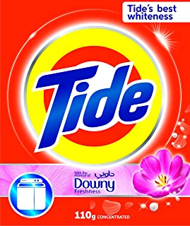 Tide Powder Detergent with Essence of Downy, 110 gm