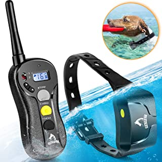 Shock Collar for Dogs - IPX7 Waterproof Dog Shock Collar with Remote IPX5 3000ft Range Dog Training Collar Fast Training Effect for Dog