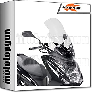 E48 Windschild ISOTTO KOMPATIBEL MIT Yamaha Majesty 125