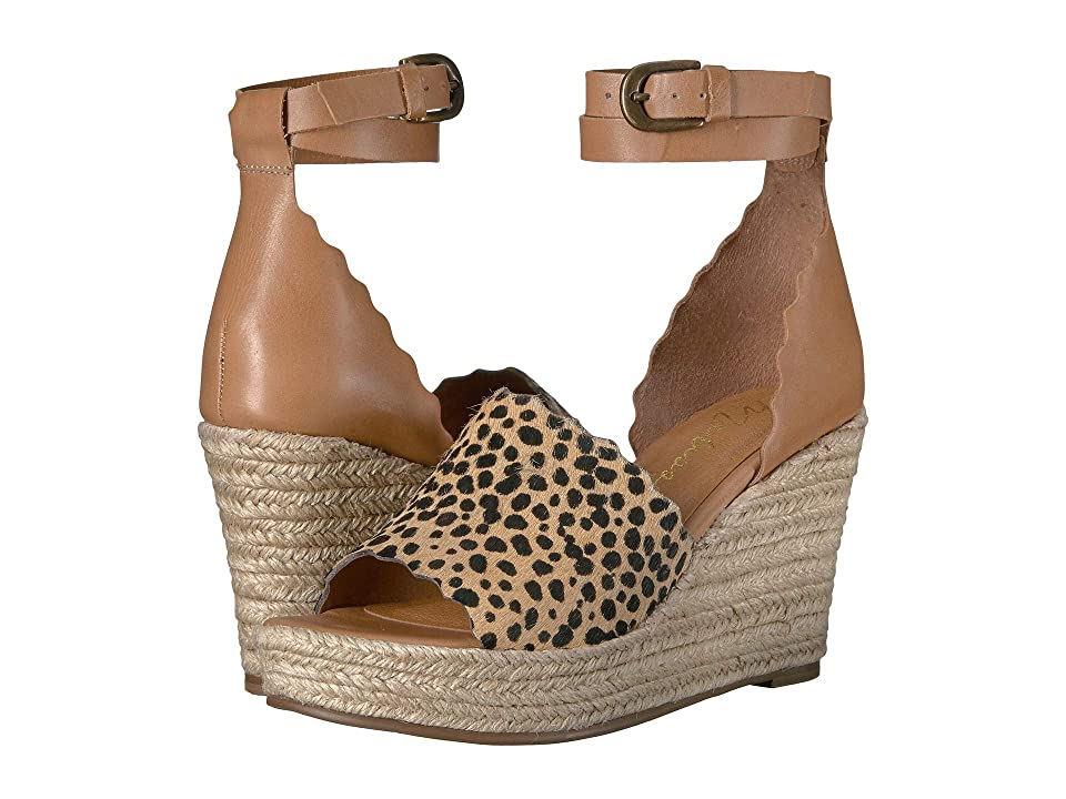 Matisse Roma Espadrille Sandal (Tan/Leopard) Women