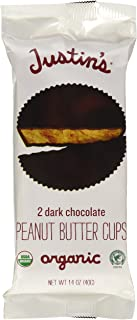 Justin's Nut Butter - Peanut Butter Cups Dark Chocolate - 1.4 oz.