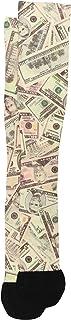 Prince Daniel Men's Therapeutic Compression Sock, Cash Money, 8-15 Mmhg, Mild