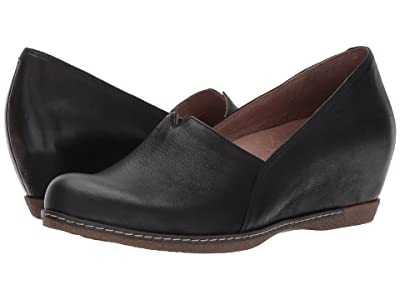 Dansko Liliana (Black Burnished Nubuck) Women