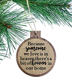 heaven in our home christmas ornament