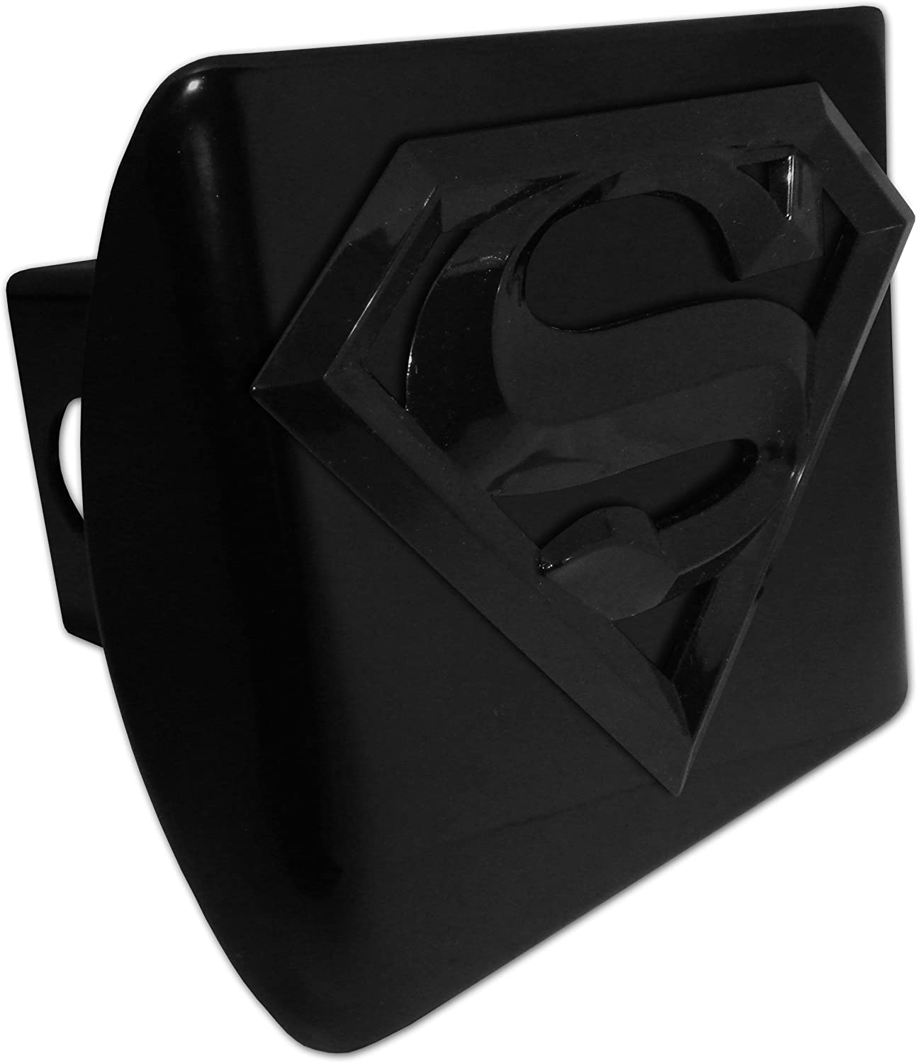 Superman Opening large release sale free shipping Black and All Cover Hitch Metal