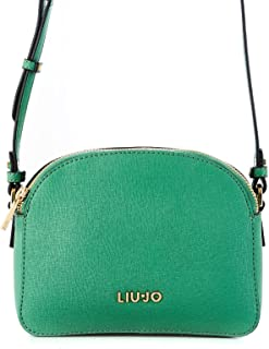 Liu Jo Women's N19007E008775923 Green Faux Leather Shoulder Bag
