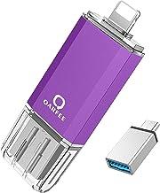 Photo Stick USB Flash Drive 128GB Compatible iPhone Memory Stick Thumb Drive Compatible iPhone, Android,iPad, MacBook, PC ...