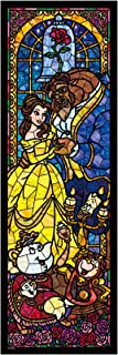 Tenyo Disney Beauty and The Beast Stained Glass 456 Pieces Puzzle (DSG-456-732)