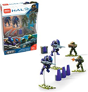 Mega Construx Halo Spartan-IV Team Battle Micro Action Figure Building Set
