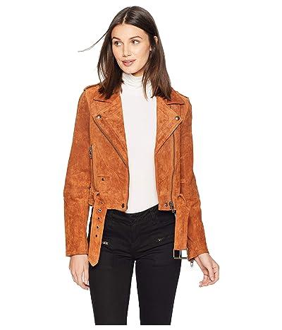 Blank NYC Suede Moto Jacket (El Dorado) Women