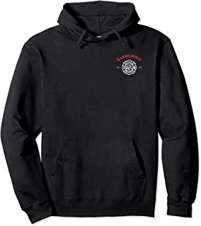 Bakersfield Fire Rescue Department California Firefighter Pullover Hoodie