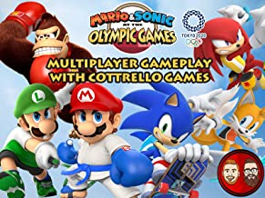 Mario & Sonic at the Olympic Games Tokyo 2020 Multiplayer Gameplay with Cottrello Games