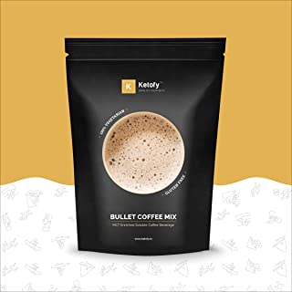 Ketofy - Bullet Coffee Mix (100g) | MCT Enriched Instant Soluble Coffee Beverage