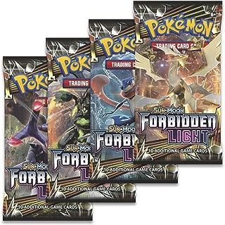 Pokemon: Sun & Moon Forbidden Light - Booster Packs (4 Pack Lot)