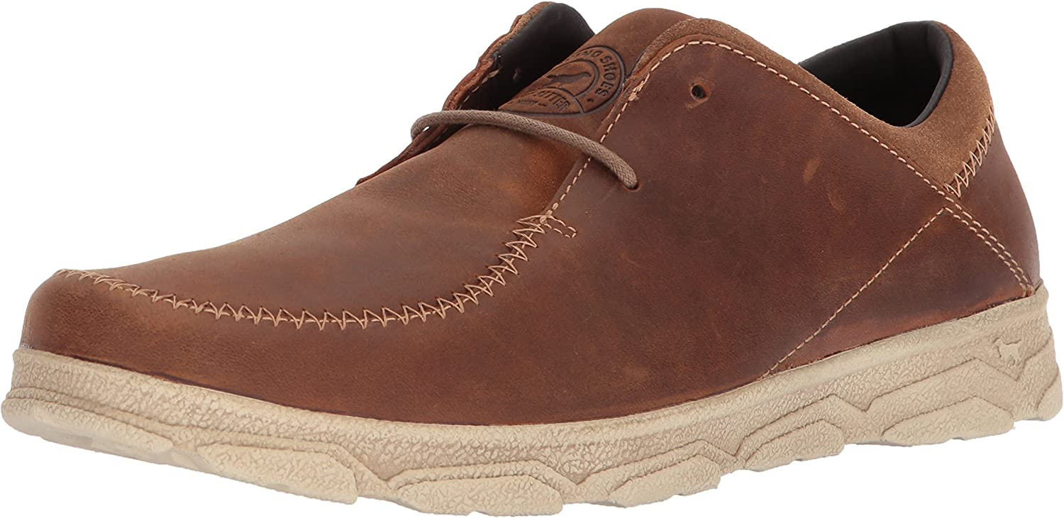 Irish Setter Men's Traveler 3804 Oxford Boot, Tan, 11 2E US