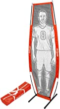 GoSports Soccer Xtraman Dummy Defender Training Mannequin - Practice Free Kicks, Dribbling and Passing Drills, Red