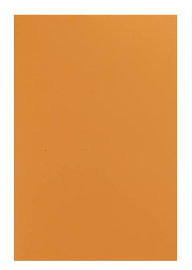 Hygloss Sheets for Crafts Colorful Foam for DIY Arts & Craft, Orange, 10 Piece