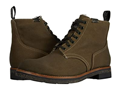 Polo Ralph Lauren Army Boot (Classic Olive Waxed Canvas) Men