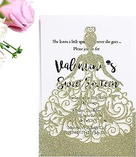 Best sweet fifteen invitation ideas Reviews