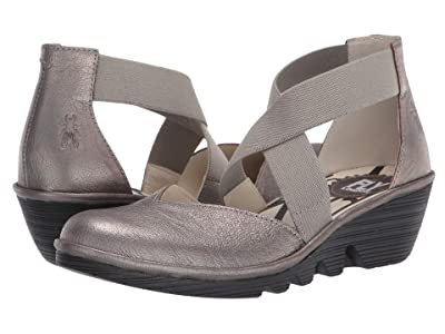 FLY LONDON PACO147FLY (Pewter Idra) Women