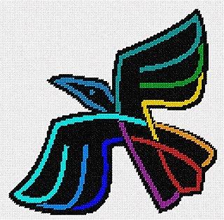 pepita Colored Celtic Crow Needlepoint Kit